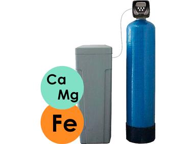 фільтр пом'якшення і знезалізнення води
