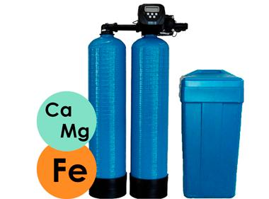 фільтр твін для знезалізнення і пом'якшення води